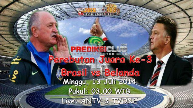 Prediksi Final Brasil vs Belanda 13 Juli 2014 22