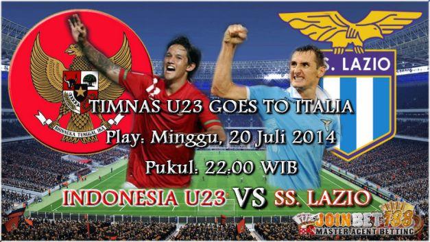 Prediksi Jitu Indonesia U23 vs Lazio 20 Juli 2014
